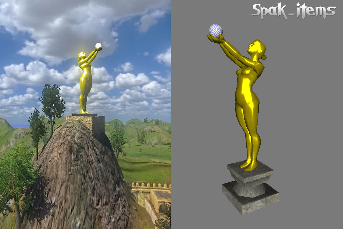 G Statue Gold2